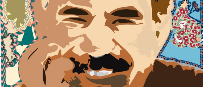 Abdullah Ocalan/ illustration, Raafed Jarah 2013